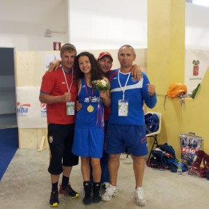 Чемпионат Европы по боксу среди девушек и юниорок 2014 год респ. Италия.