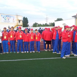 Спартакиада России 2013 г. Пенза