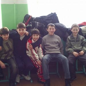 Ученики Арского отделения бокса